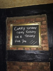curry tuesday